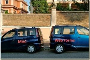 ASP.NET v3.5 WebForms versus MVC