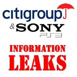 CitiGroup Loses Sony Customer Information